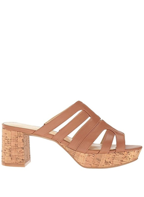 Nine West %100 Deri Terlik Taba